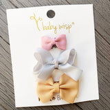 3 Mini Latch Wisp Clip Mix Set- Wintersky - Baby Wisp