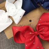 Big Sparkle Boutique Bows Gift Set - Red, White and Blue - Baby Wisp