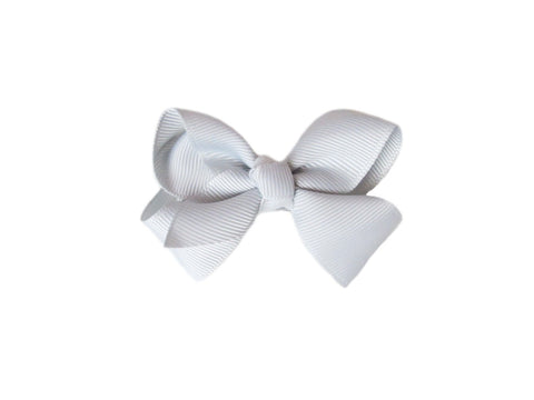 Small Snap Bowtastic Bow - Grey - Baby Wisp