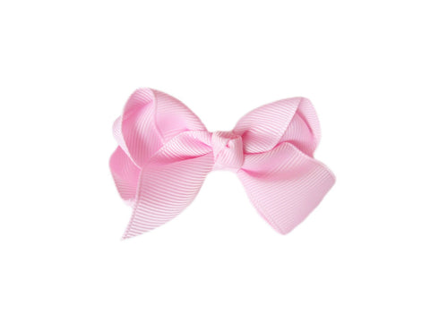Small Snap Bowtastic Bow - Light Pink - Baby Wisp