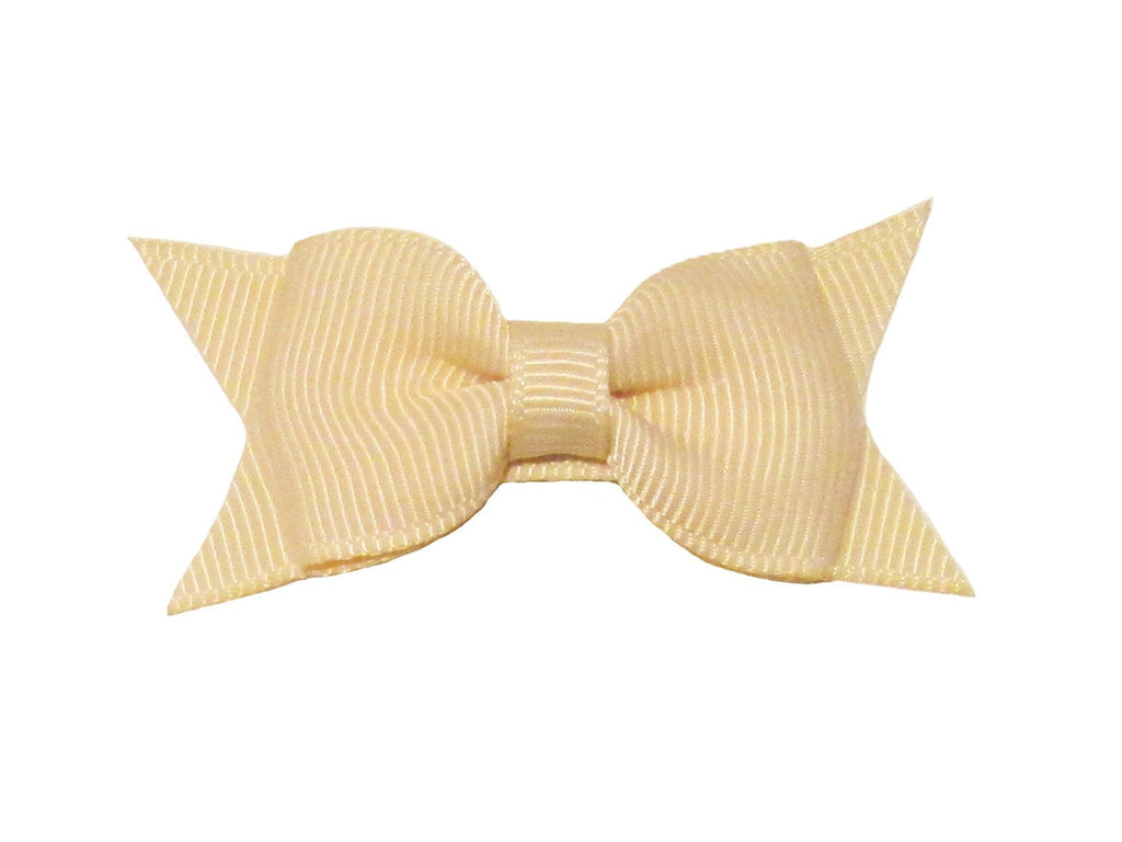 Small Snap Cadeau Bow - Single - Ivory - Baby Wisp