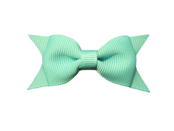 Small Snap Cadeau Bow - Single - Baby Wisp