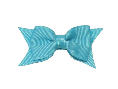 Small Snap Cadeau Bow - Single - Turquoise - Baby Wisp