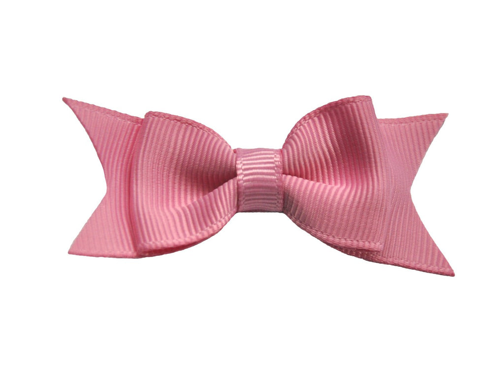 Small Snap Cadeau Bow - Single - Wildrose - Baby Wisp