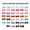 Small Snap Chelsea Boutique Bow - Baby Wisp
