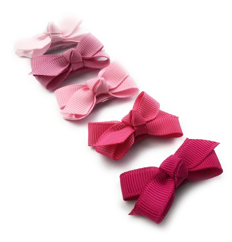 Small Snap Chelsea Boutique Bow Collection - Pink Crush - Baby Wisp