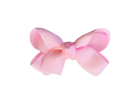 Small Snap Emily Bow - Single - Baby Wisp - light-pink