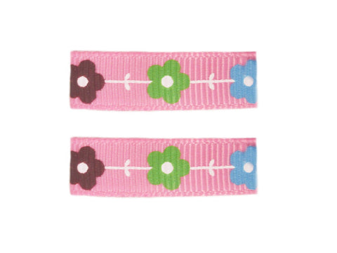 Little Girl Urban Flowers - Baby Wisp - pink