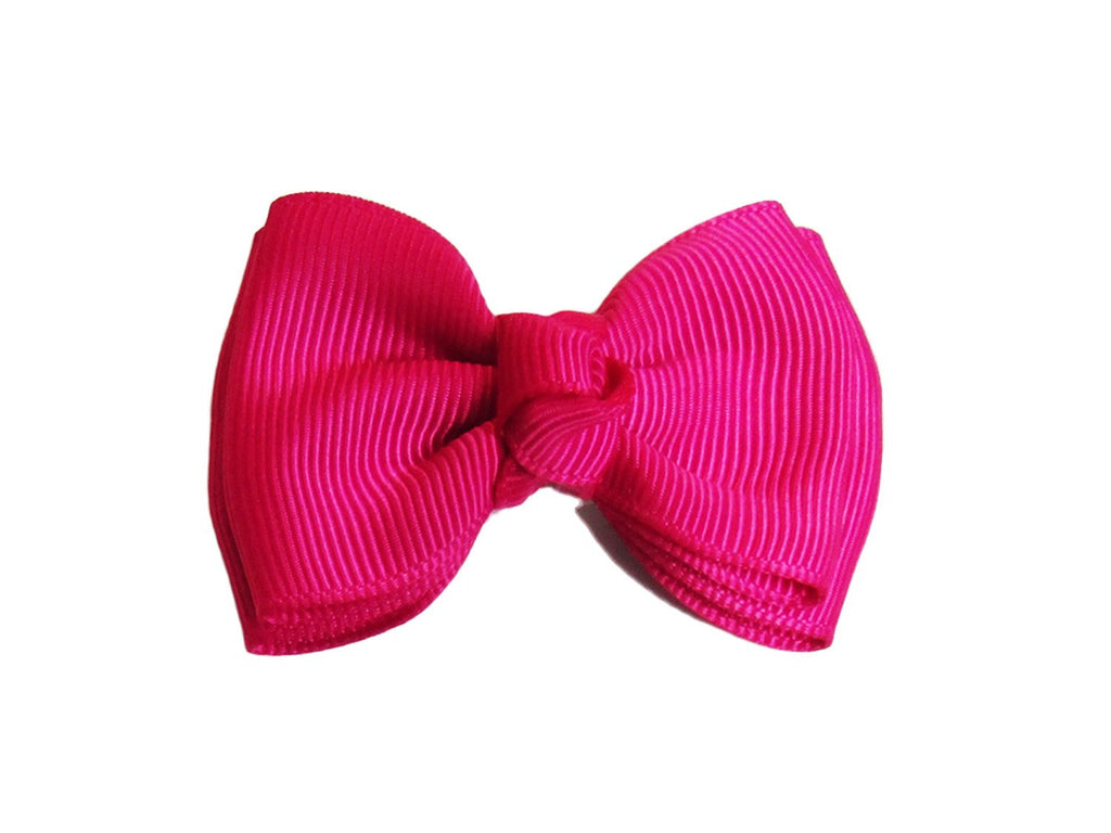 Small Snap Modern Twist Hair Bow - Baby Wisp