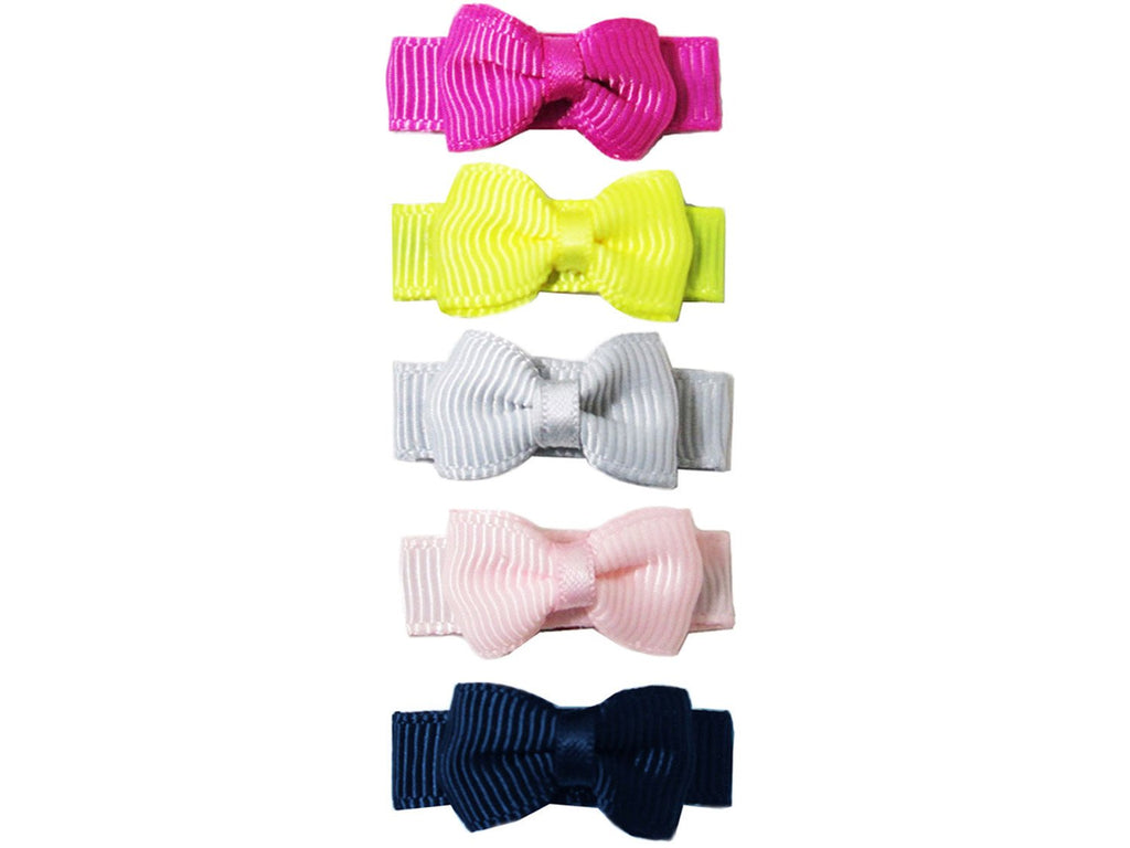 Small Snap Grosgrain Hair Bow Collection - Picture Perfect - Baby Wisp