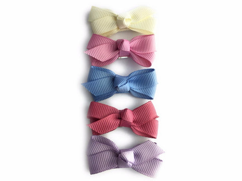 Small Snap Chelsea Boutique Bow Collection - Royal Family - Baby Wisp