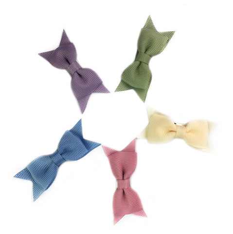 Small Snap Cadeau Bow Collection - Ivy - Baby Wisp