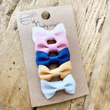 Small Snap Charlotte Bow Collection - Sweet Vibrations - Baby Wisp