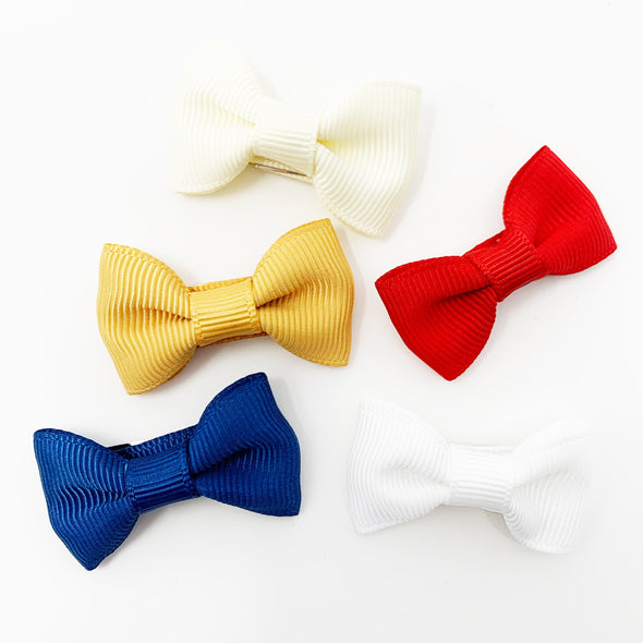 5 Small Snap Charlotte Bow Collection - Dawn's Early Light - Baby Wisp
