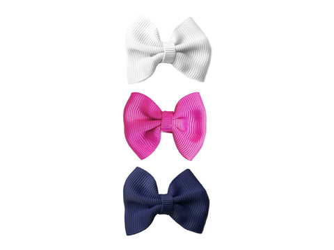Small Snap Classic Bow - Back to School - Baby Wisp