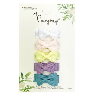 5 Small Snap Tuxedo Bow Easter Sets - Baby Wisp