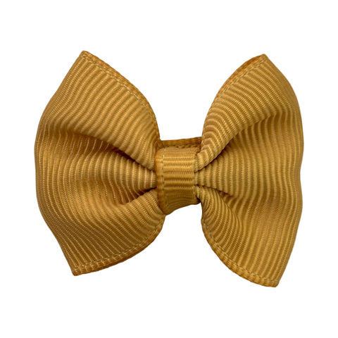 Fall Colors Small Snap Classic Baby Bow - Baby Wisp