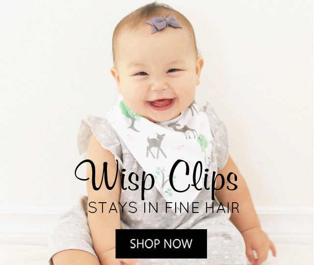 Baby Wisp Latch Clips for Fine, Wispy Hair