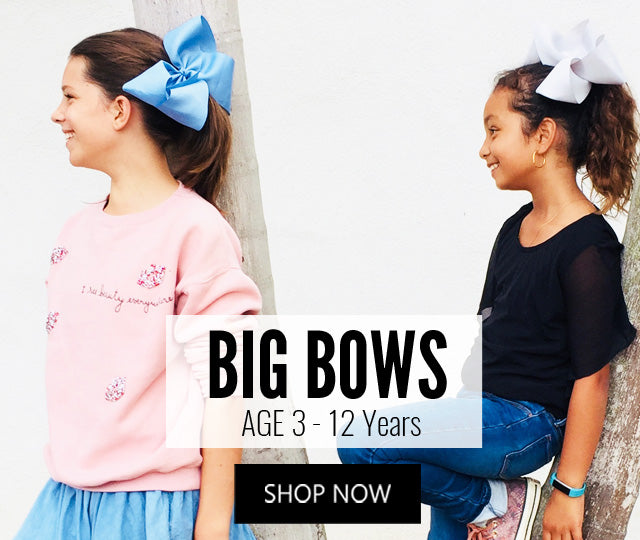 Big Hair Bows for Girls