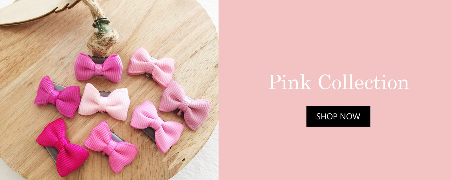 Free Gift Hair Bow Collection with minimum purchase