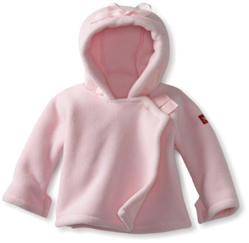 Light Pink Baby Fleece Jacket Outerwear