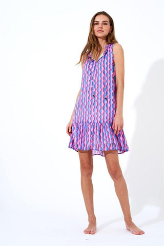 RUFFLE HEM DRESS by Oliphant