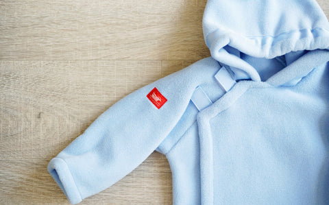 Light Blue Fleece Jacket Outerwear
