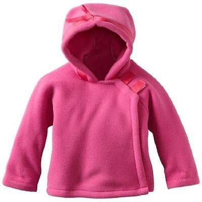 Hot Pink Baby Fleece Jacket