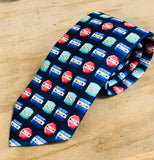 Men's Beach Badge Tie