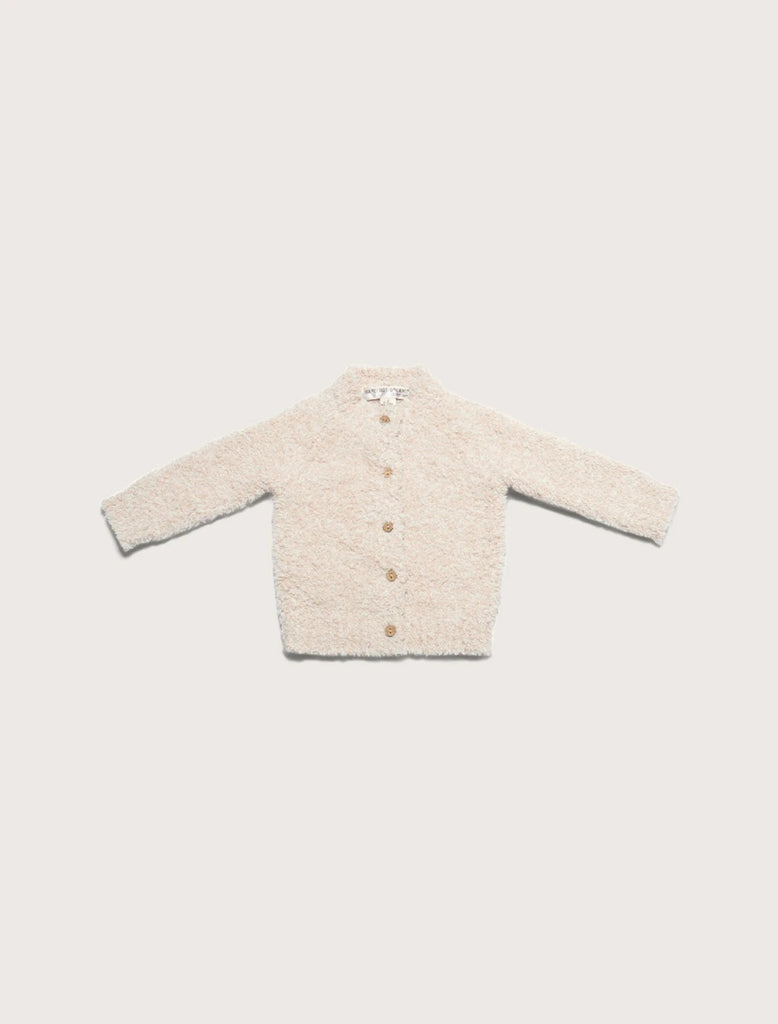 Barefoot Dreams Heathered Baby Cardigan