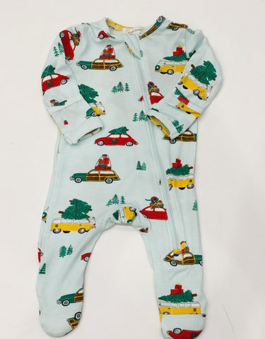 Angel Dear Christmas Zip Up Onesie