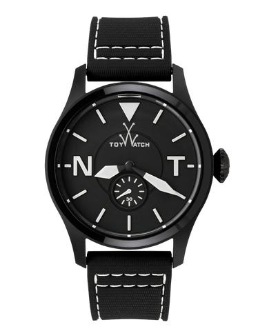 TOY 2 FLY ONLY TIME BLACK DIAL WITH WHITE - ToyWatch