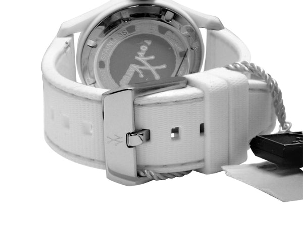 Toy Watch Toy2Fly White Silicone Band Watch