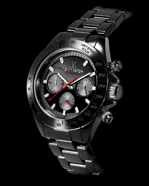 CERAMICA CHRONO BLACK - ToyWatch