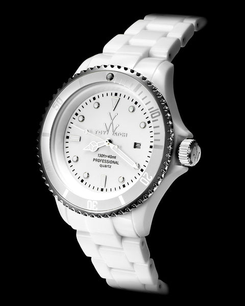 FLUO XL WHITE - ToyWatch
