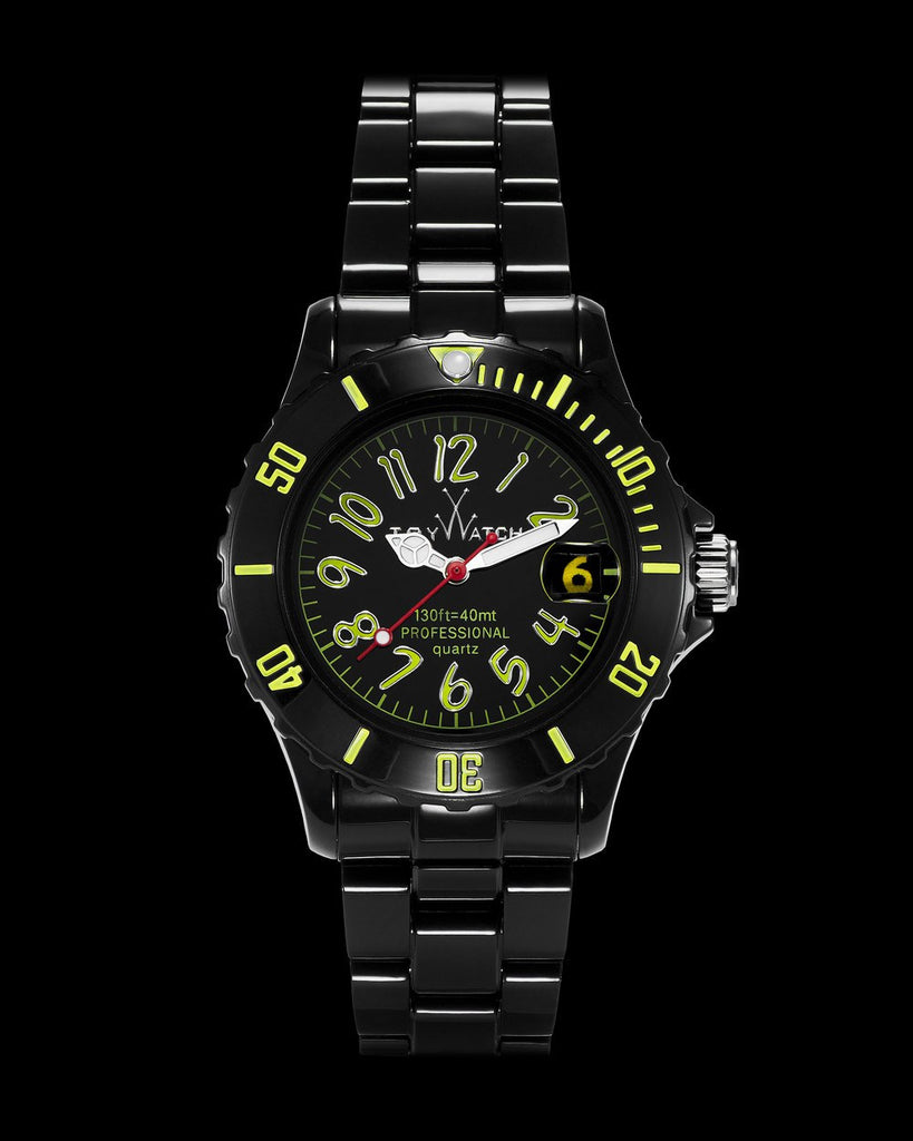 FLUO SMALL BLACK AND GREEN - ToyWatch