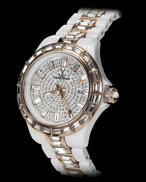 GEMS WHITE AND PINK GOLD - ToyWatch