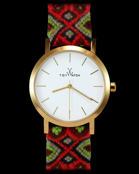 MAYA WOOL RED WOVEN - ToyWatch