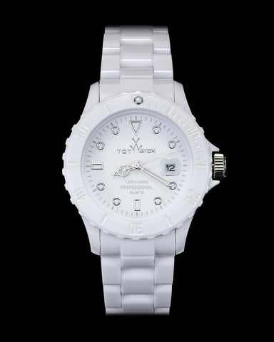 MONOCHROME WHITE - ToyWatch