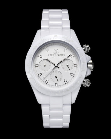 MONOCHROME CHRONO WHITE - ToyWatch