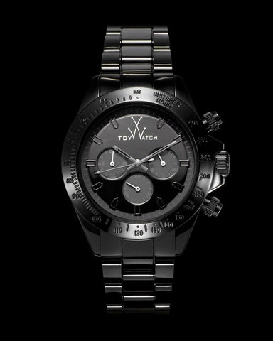 MONOCHROME CHRONO BLACK - ToyWatch