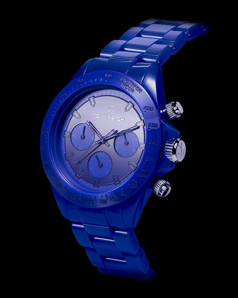 MONOCHROME CHRONO BLUE - ToyWatch