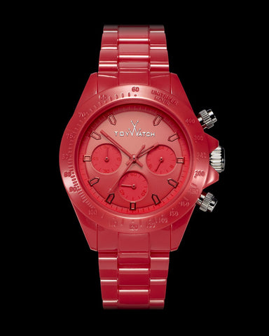 MONOCHROME CHRONO RED - ToyWatch