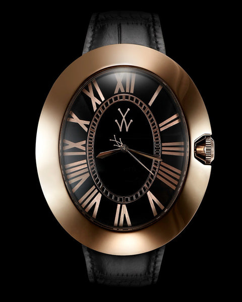 MONNALISA BLACK AND PINK GOLD - ToyWatch