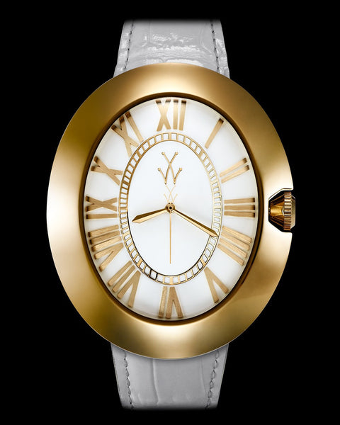 MONNALISA WHITE AND YELLOW GOLD - ToyWatch