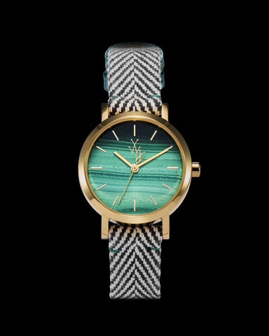 MAYA NATURAL STONE SMALL MALACHITE - ToyWatch