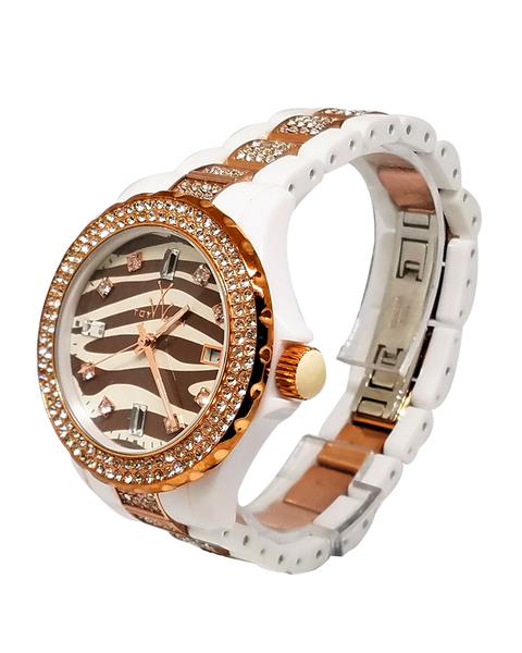 Zebra Diamond Collection Watch