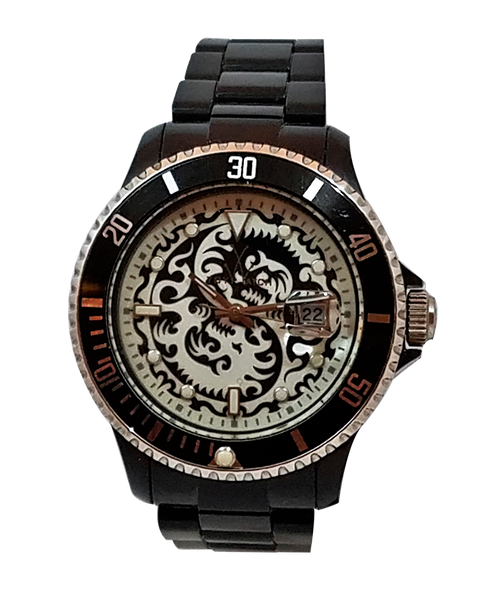 ToyWatch Tattoo Watch Collection Black - Dragon
