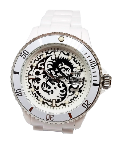Toy Watch Tattoo Watch Collection White - Dragon