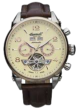 Men's Montgomery Fine Automatic Timepiece Cream Dial Watch